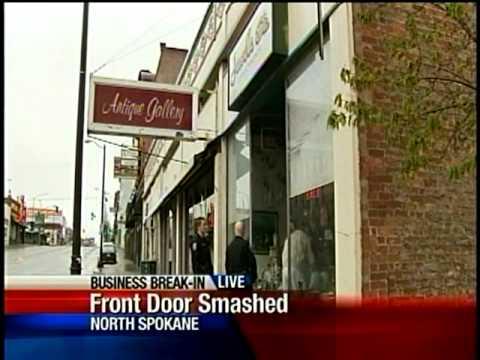 Jewelry stolen from Spokane antique store