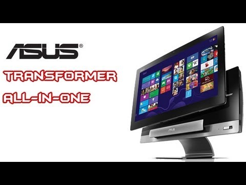 ASUS Transformer All-in-One P1801 First Look Overview ...