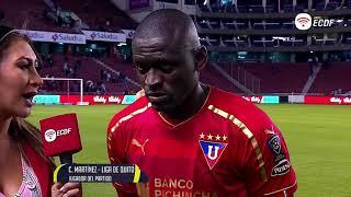 Cristian Martínez Mejor Jugador Del Partido Liga De Quito Vs Alianza - Copa Ecuador
