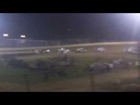 Florence Speedway late model feature start 2017