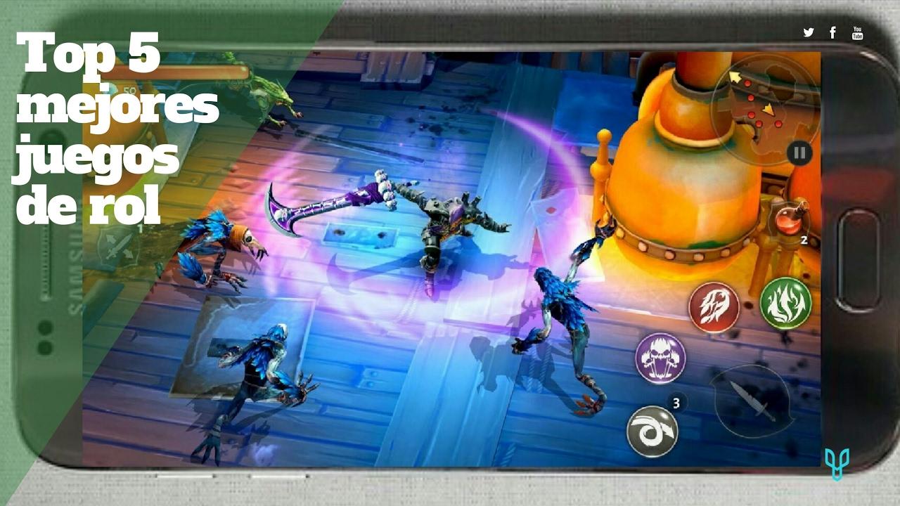 Top 5 Mejores Juegos De Rol Android Gratis Graficos