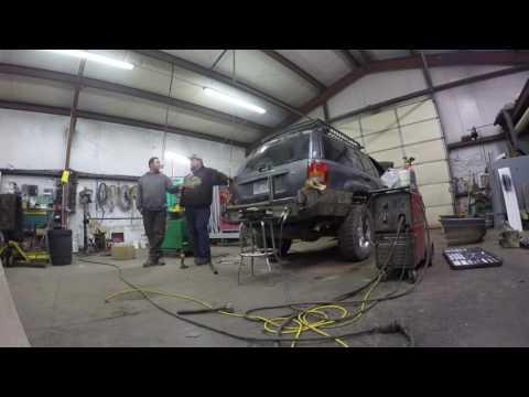 WJ Rear Bumper Build