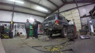 wj rear bumper build