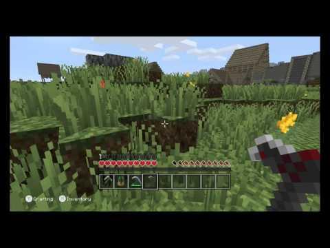 Minecraft: Wii U Edition – Skyrim Adventure Mode Gameplay Footage (Direct-Feed)