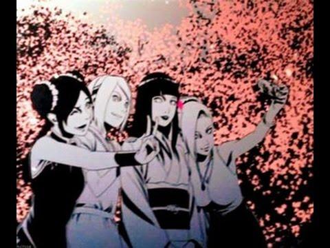 Naruto Girls AMV - Chandelier