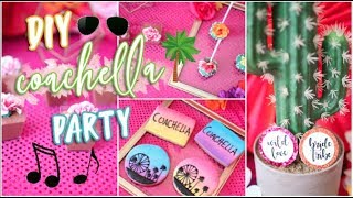 Pinterest Inspired COACHELLA Party / Bridal Shower | DIY Treats + Decor