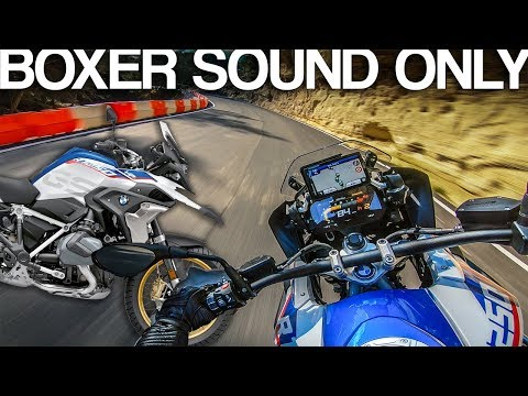 BMW R1250 GS HP sound [RAW Onboard]