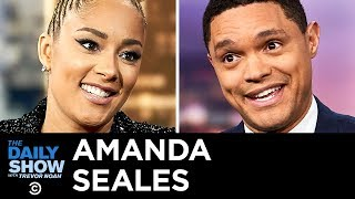 "Amanda Seales - Bringing Authenticity and Empowerment to ""I Be Knowin'"" 