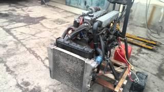 Motor avia -zkouška po opravě