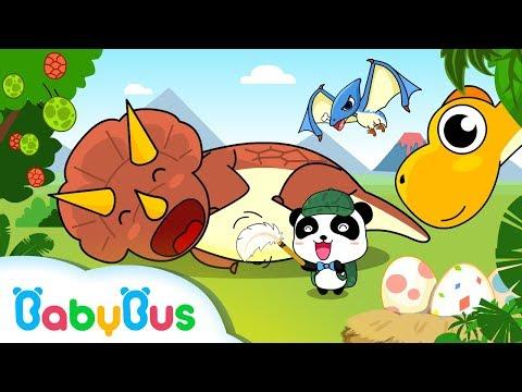 JurassicWorld   T Rex Family   Dinosaur Planet   Baby Panda Gameplay Videos   BabyBus