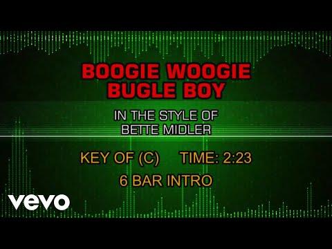 Bette Midler - Boogie Woogie Bugle Boy (Karaoke)