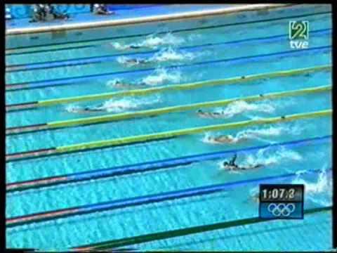 4x100 freestyle relay men Final. Athens 2004