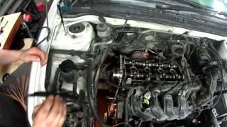 Toyota Fielder 1NZ FE замена цепи ГРМ и маслосъемных колпачков Серия 2 (Сборка)