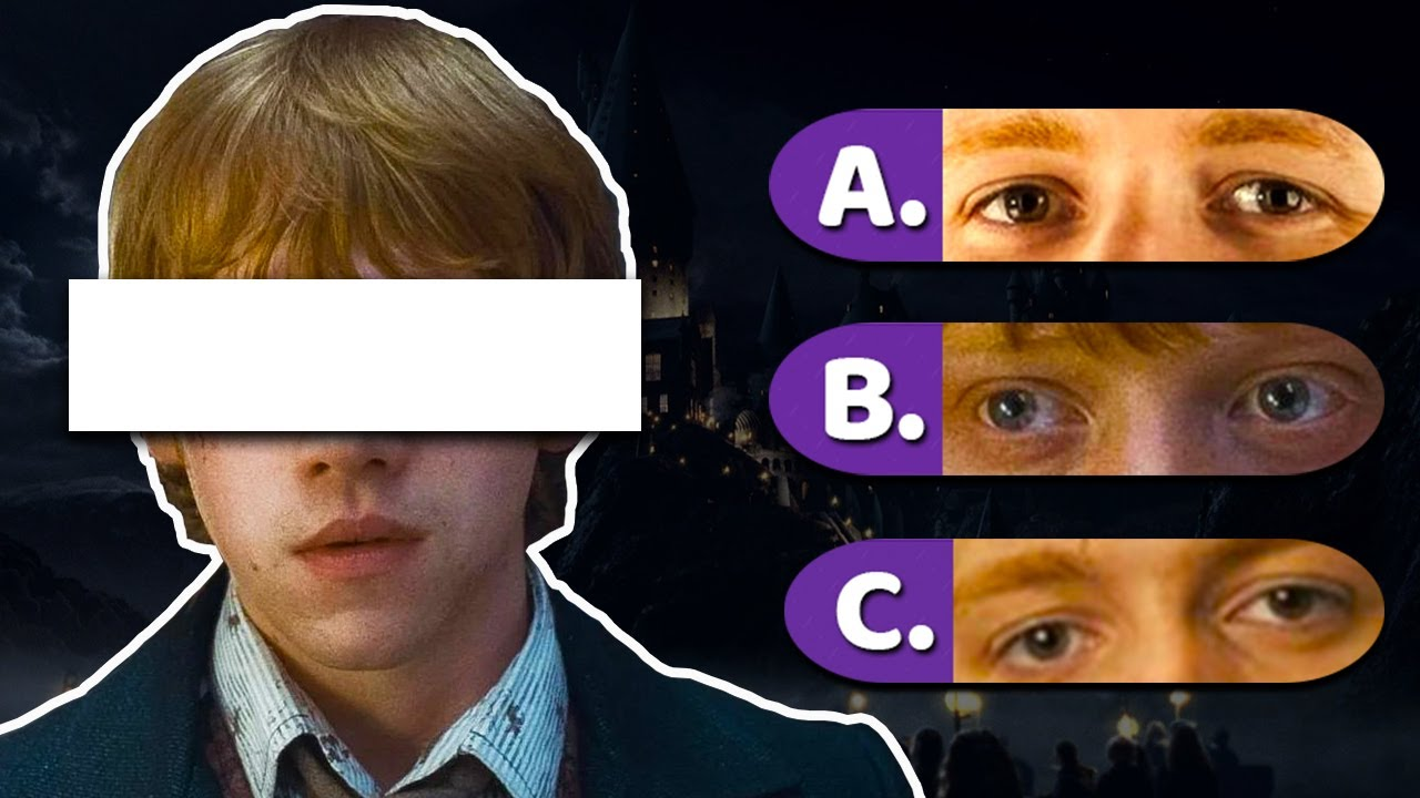Download Guess The Harry Potter Character By The Eyes | Harry Potter Quiz