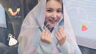 [Wedding Vlog] 웨딩드레스, 웨딩슈즈, 한복…