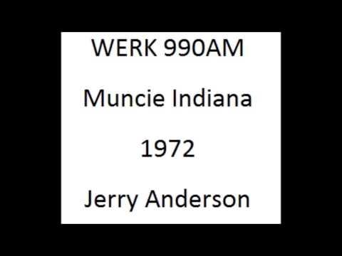 WERK Muncie Indiana 1972 Aircheck
