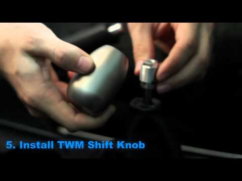 TWM Performance Shift Knob Install HOW TO!