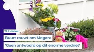 In ongeloof komt Breda samen om doodgestoken Megan