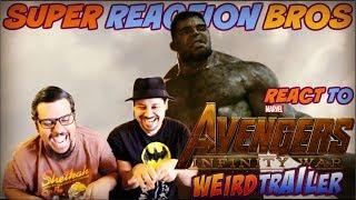 SRB Reacts to Avengers Infinity War Weird Trailer 2