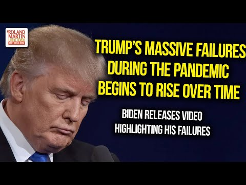 As the pandemic continues Trump's failures rise in number