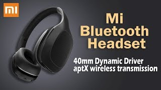 Xiaomi Mi Bluetooth Headset Launched With Large 40mm Dynamic Driver | InfoTalk