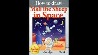 haw to draw book - mali the sheep in space