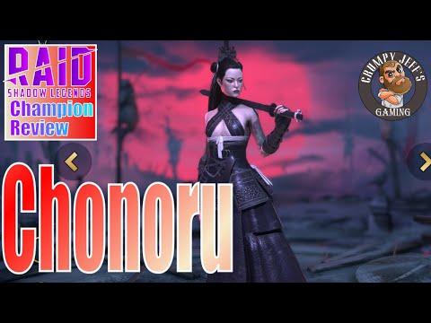Raid Shadow Legends Chonoru Champion Review 🔥🔥🧔⚔☠