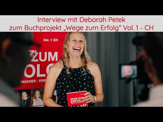 Interview mit Autorin Deborah Petek zum Buchprojekt