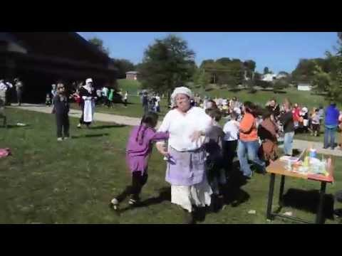 Students at Brickey-McCloud Elementary School celebrate Colonial Day