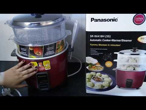 #Electric Cooker Panasonic Electric Rice Cooker-Warmer/Steamer (SR-WA 18H) Product Review