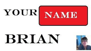 Brian Name Meaning