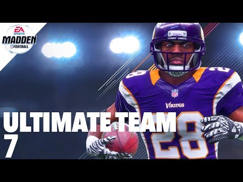 Madden 18 Ultimate Team - FlashBack Adrian Peterson Ep.7