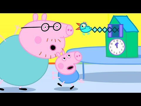 Peppa Pig Official Channel | Daddy Pig Mends the Cuckoo Clock for Peppa Pig