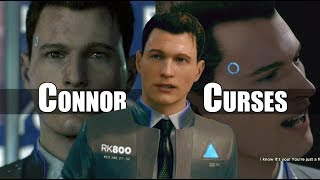 Detroit Become Human - Connor Curses Just Four Times - So Savor The Moment