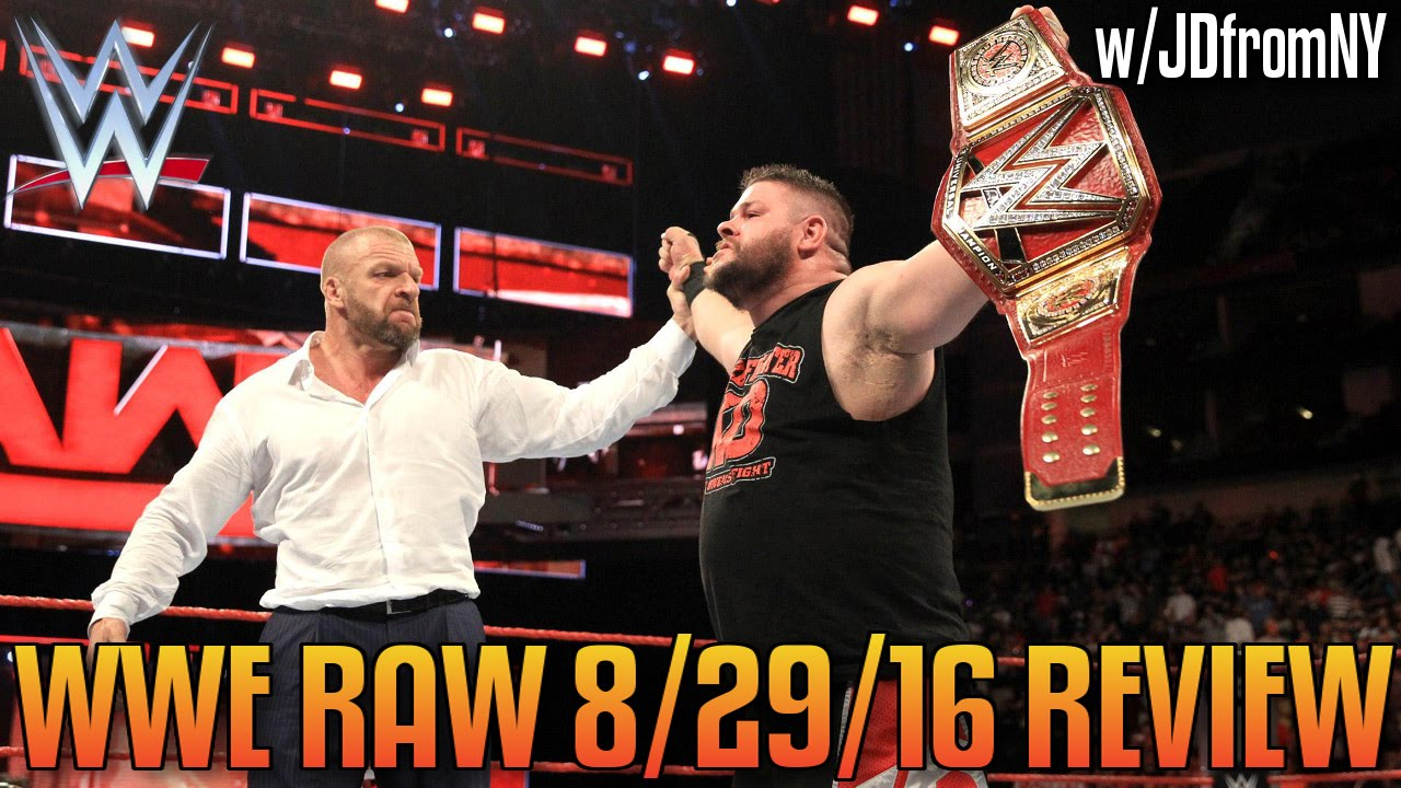 Download WWE Raw 8/29/16 Review: Triple H Returns To Crown Kevin Owens The NEW WWE Universal Champion