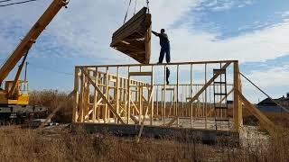 видео Виды стропильных ферм