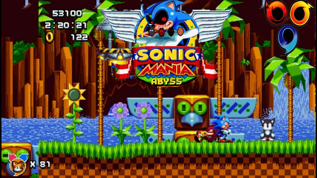 Mania Plus Mod -Team Sonic exe Abyss (Heroes?)