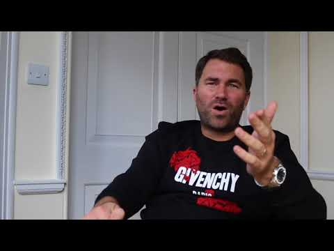 EDDIE HEARN GIVES HIS TAKE ON THE JAMIE CARRAGHER SPITTING I