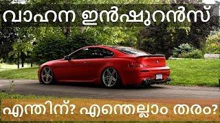 വാഹന ഇൻഷുറൻസ് - Vehicle Insurance (Malayalam)