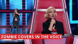 """BEST """"Zombie"""" covers in The Voice 