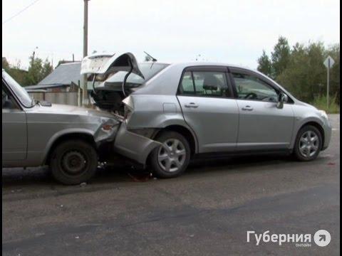 Грудной ребенок пострадал в аварии в пригороде Хабаровска.MestoproTV