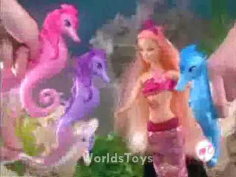 2010  Barbie en una aventura de sirenas comercial EspLatino