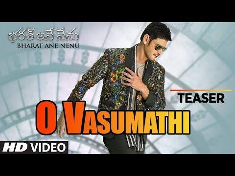 O Vasumathi Video Song Teaser | Bharat Ane Nenu Songs | Mahesh Babu, Yazin, Rita | Devi Sri Prasad