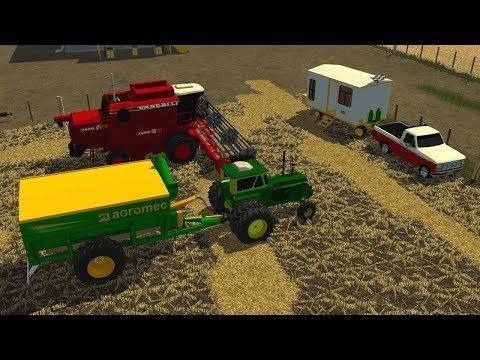Farming Simulator 2013 Argentina - Mapa Estancia Santa Catalina -  TIMELAPSE - #1