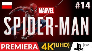 SPIDER-MAN PL (PS4 / 2018)  #14 (odc.14)  Cicha MJ | Gameplay po polsku w 4K