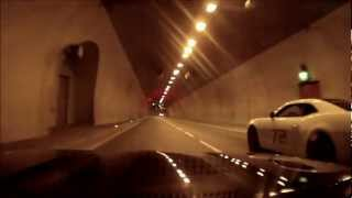 Ford Capri Essex V6 with exhaust cutout roared in tunnels