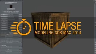 Modeling 3ds Max  - Asset Wood Box for Game - Time Lapse