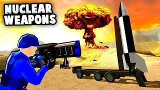 NUCLEAR WEAPONS Destroy Enemy Base! Nuka Zooka Commando Raid! (Ravenfield Best Mods)