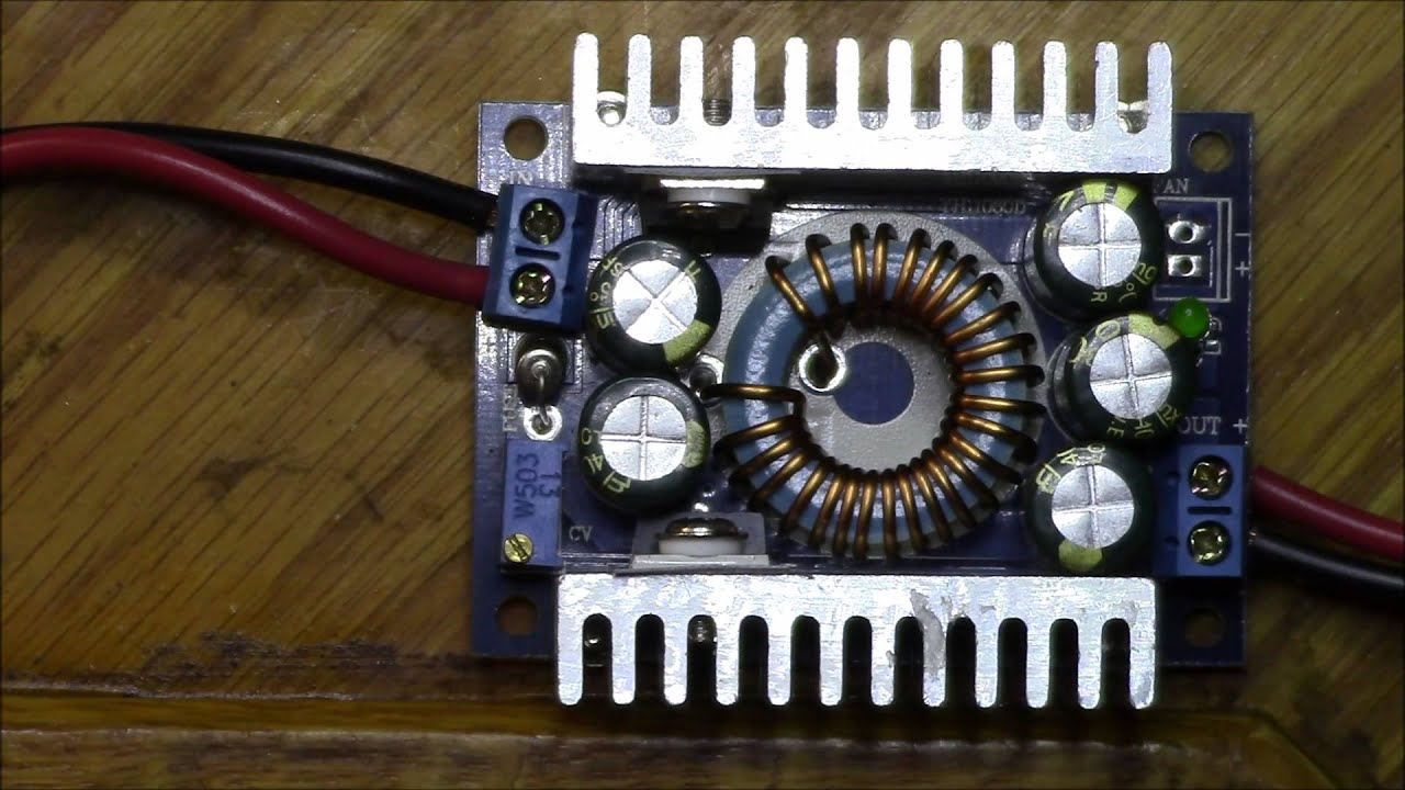 Schematic Dc Converter Ask Answer Wiring Diagram Buck Circuit Drok 8a 100w Review Part 1 Youtube