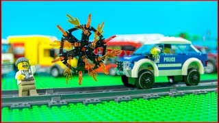 LEGO Money Fail Police Excavator Transport
